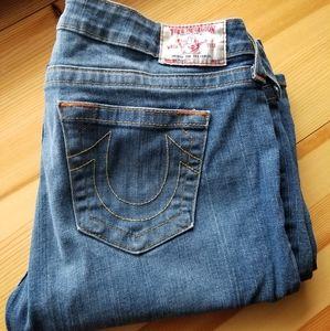 Made in USA True Religion brand Jeans sz 32 x 31.5